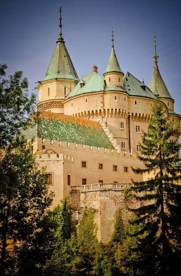Download Fabulous Bojnice Castle Stock Image - Image: 26404041