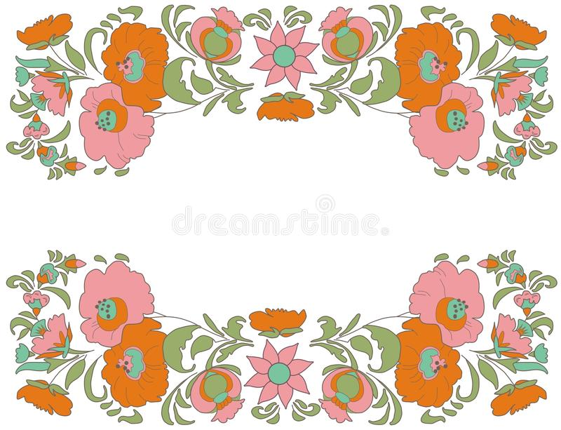 fabulous floral pattern ethnic flowers floral folk art folkart rh dreamstime com vector flower pattern free download flower watercolor vector pattern