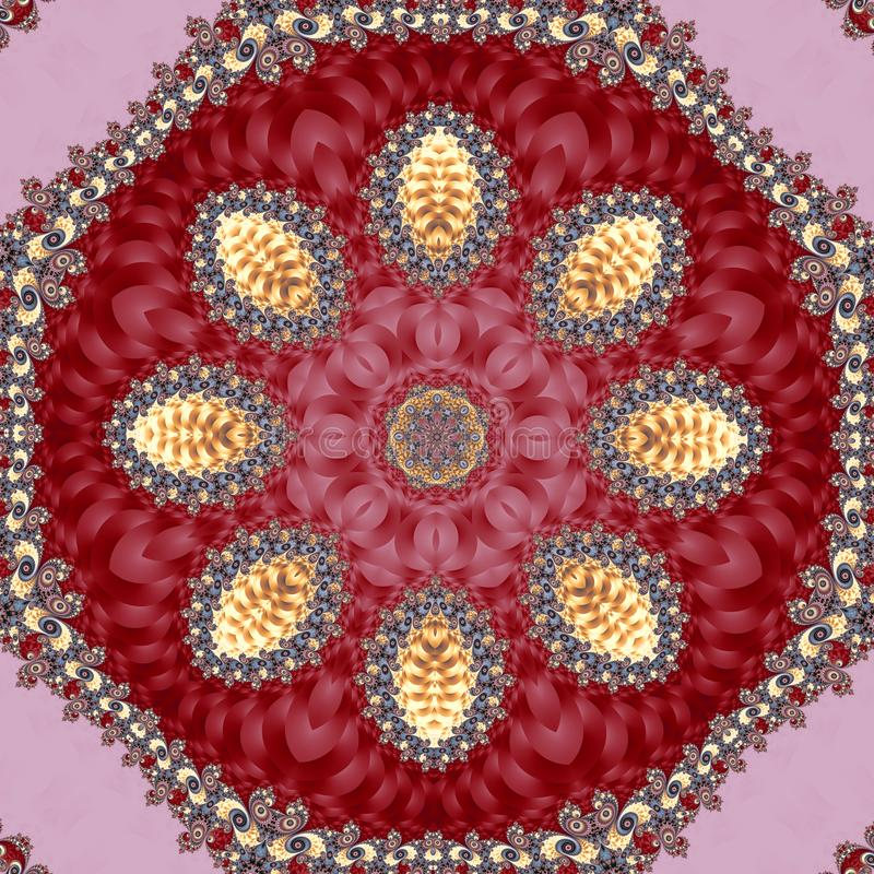 Fabulous fractal background with spiral and circle ornament. You can use it for invitations, notebook covers, phone case, stock photos
