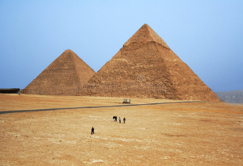 Download Fabulous Pyramids Royalty Free Stock Photos - Image: 6614208
