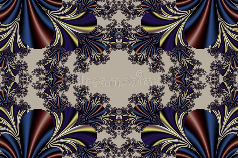Fabulous symmetrical background. Magical Satin. You can use it for invitations, notebook covers, phone cases, postcards, cards and stock photo