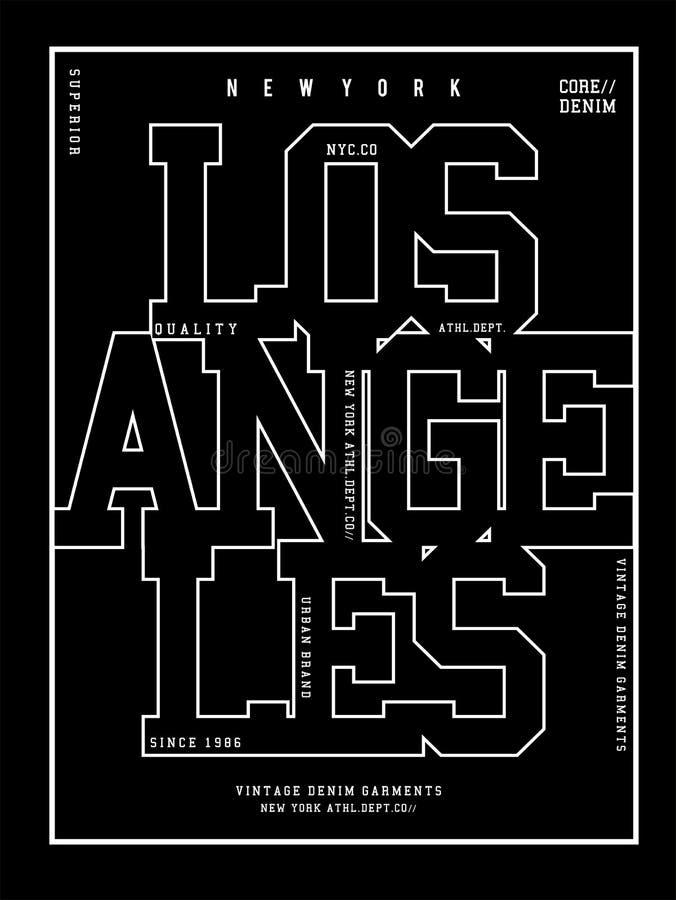 Fac 09 de typographie de vecteur illustration libre de droits