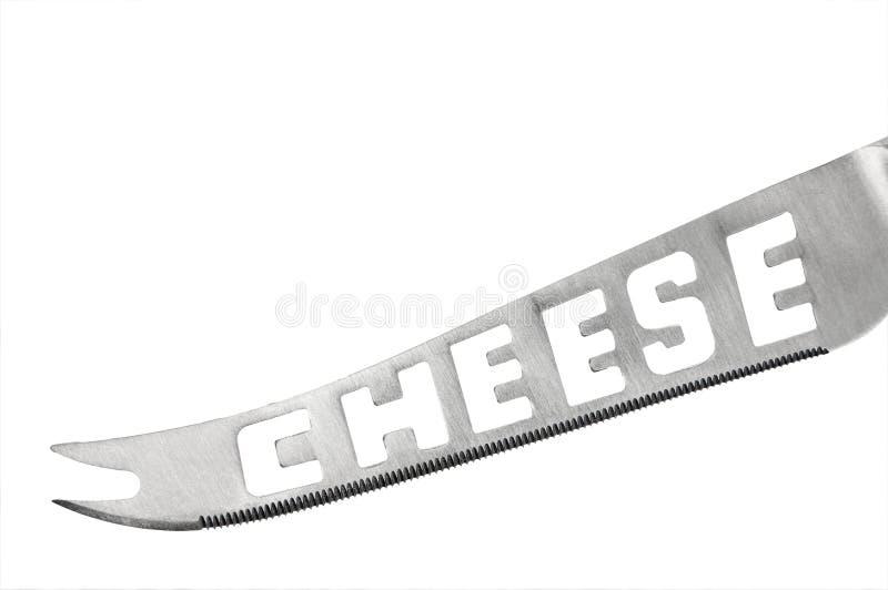 Faca do queijo imagem de stock