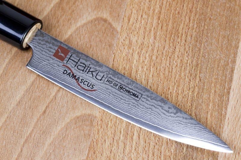 Faca do sushi fotografia de stock royalty free