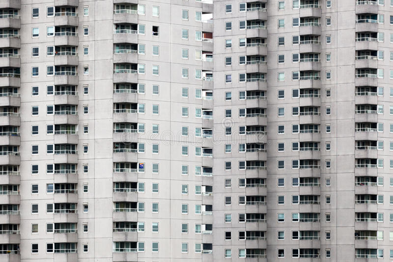 Download Facade Of An Apartment Building Stock Image - Image: 34064045