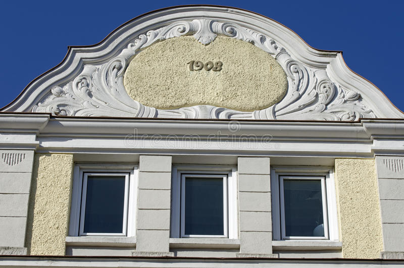 Download Facade Of Art Nouveau Building Stock Image - Image of home, city: 18815649