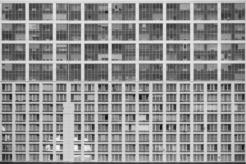 Facade av skyskrapan royaltyfri fotografi