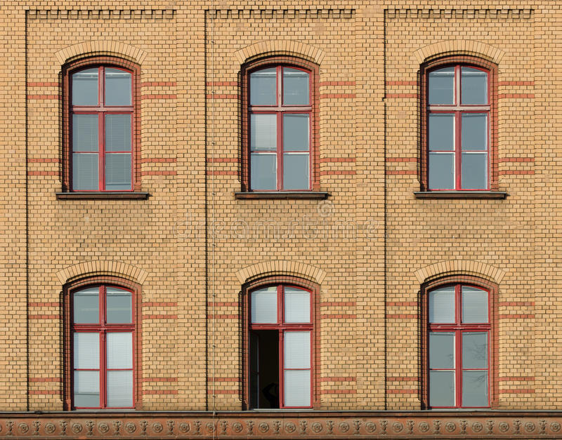 Download Facade of brick stock photo. Image of brick, outside - 23860796