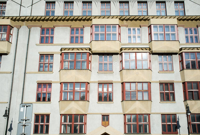 Download Cubist Style Palace In Prague Stock Image - Image of praha, center: 30217605