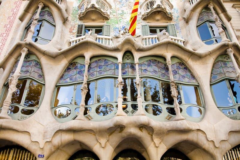 Facade, Casa Batllo royalty free stock images