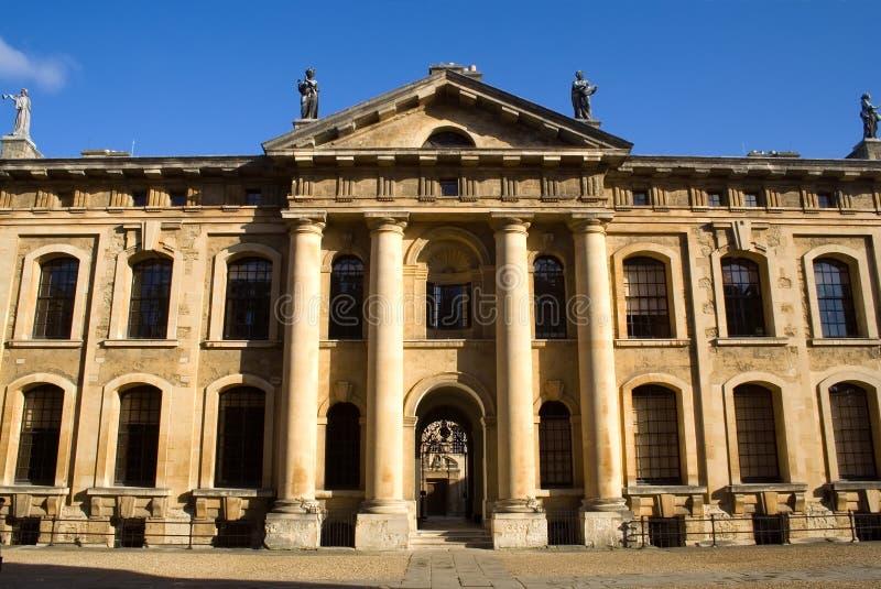 Facade of the Clarendon Building, Oxford