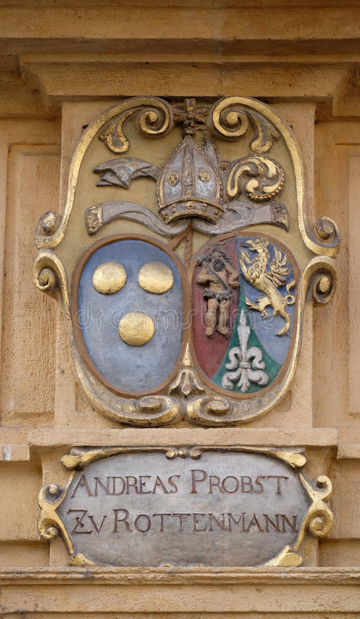 Download Facade Coat Of Arms On The Landhaus Historic Center Listed As World Heritage By UNESCO In Graz Stock Image - Image of craft, heritage: 90562745