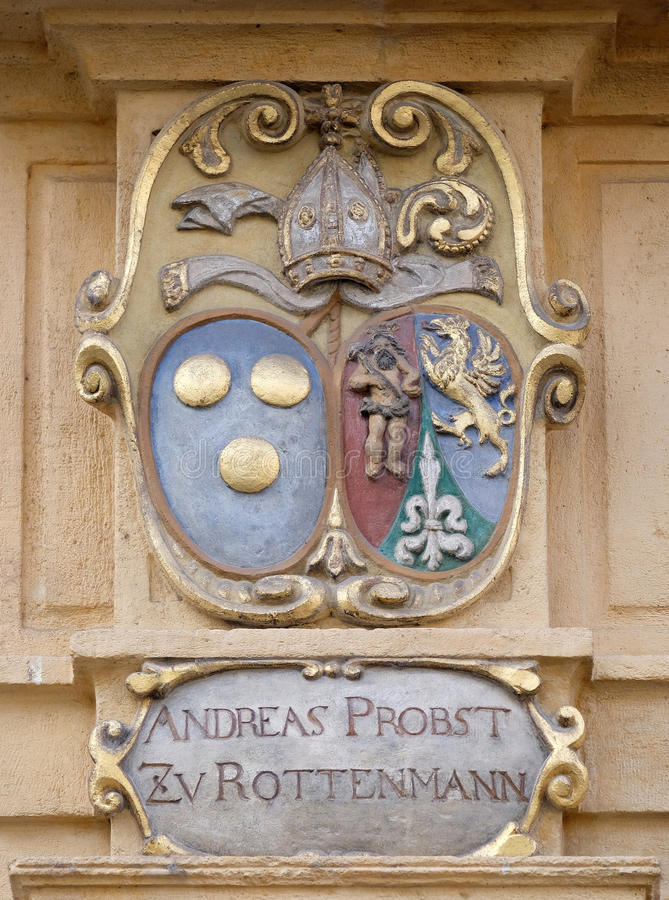 Download Facade Coat Of Arms On The Landhaus Historic Center Listed As World Heritage By UNESCO In Graz Stock Photo - Image of graz, adorn: 90562802