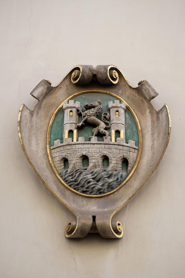 Download Facade Coat Of Arms On The Landhaus Historic Center Listed As World Heritage By UNESCO In Graz Stock Image - Image of historic, landhaus: 90563219