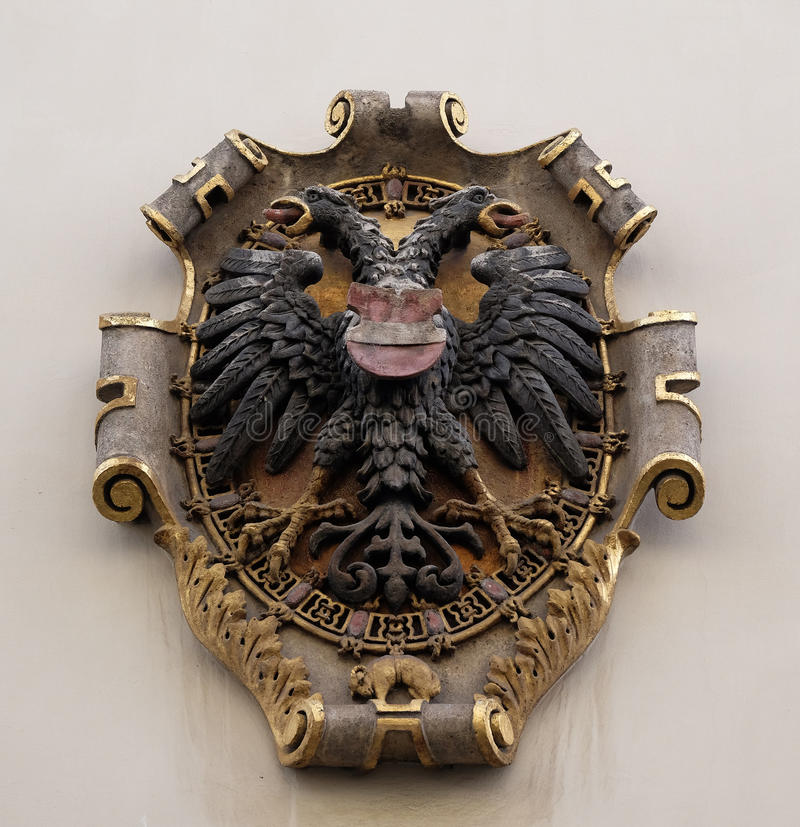 Download Facade Coat Of Arms On The Landhaus Historic Center Listed As World Heritage By UNESCO In Graz Stock Image - Image of decorative, building: 90563265