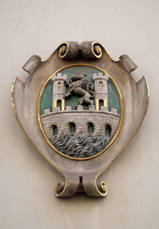 Download Facade Coat Of Arms On The Landhaus Historic Center Listed As World Heritage By UNESCO In Graz Stock Image - Image of arms, heritage: 90563331