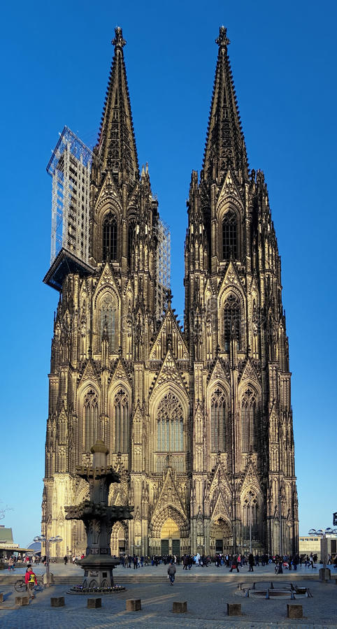 Download Facade Of Cologne Cathedral, Germany Editorial Stock Photo - Image: 23895253