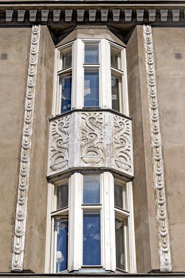 Jugendstil architecture in Helsinki stock photos