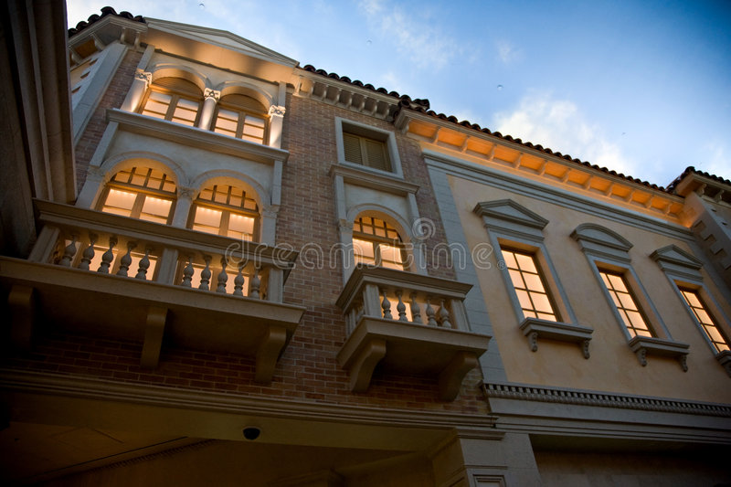 Download Facade And Exterior Detail, Venetian Hotel Editorial Stock Image - Image: 7612499