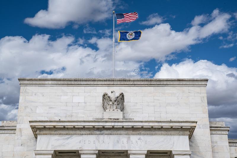 Federal Reserve Building royalty free stock photography
