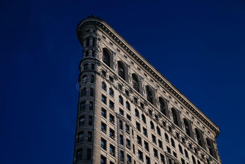 Facade of the Flatiron building royalty free stock photography