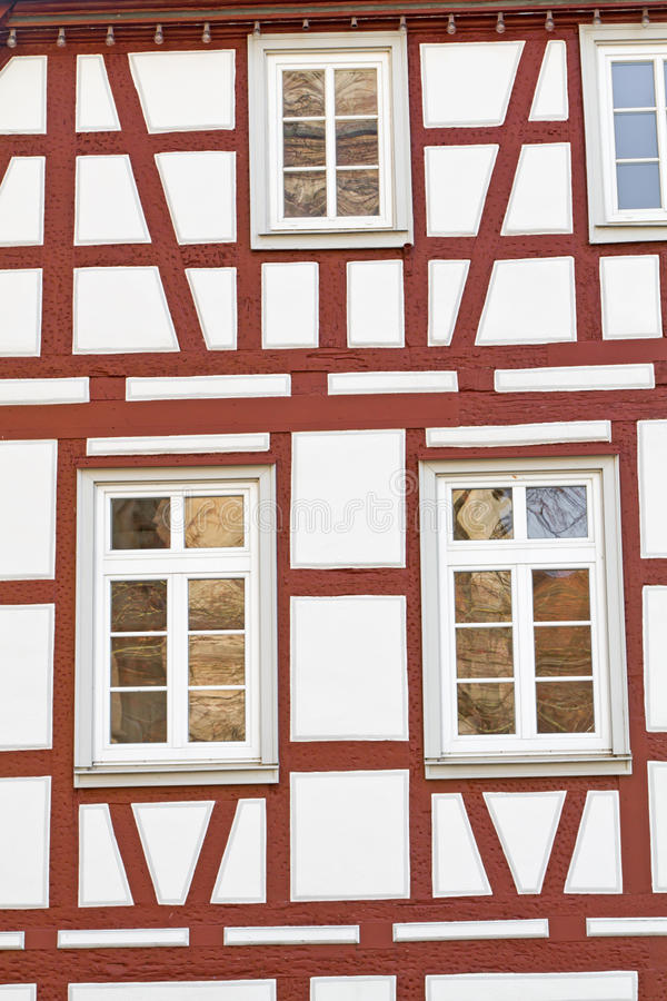 Download Facade Of A Half-timbered House, Germany Stock Photo - Image: 23284392