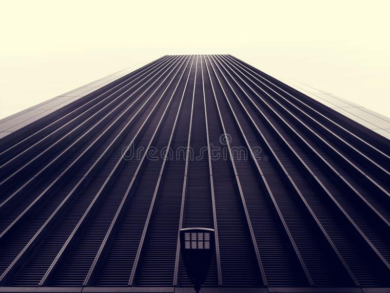 Facade of high rise building stock photos
