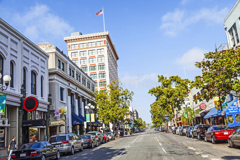 Facade of historic houses royalty free stock photo