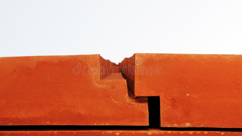 Architectural joinery detail stock photography
