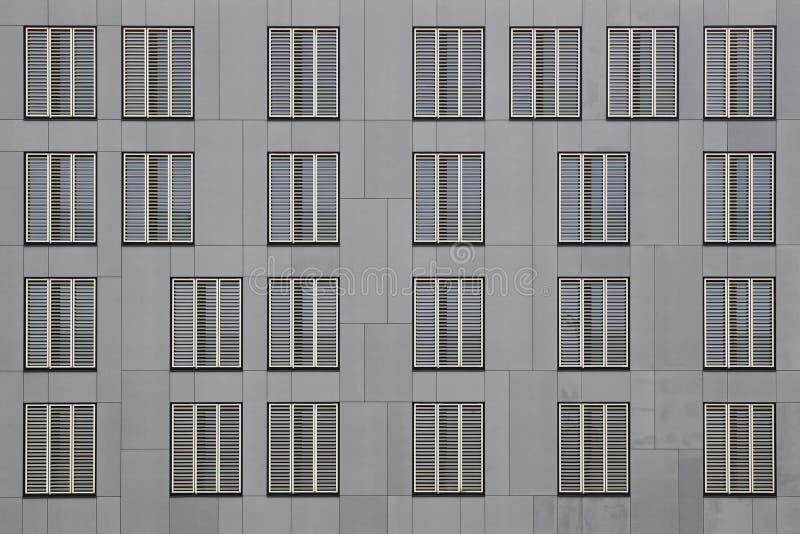 Facade of Luxembourg Institute of Socio-Economic Research in Belval, Luxemburg royalty-vrije stock afbeeldingen
