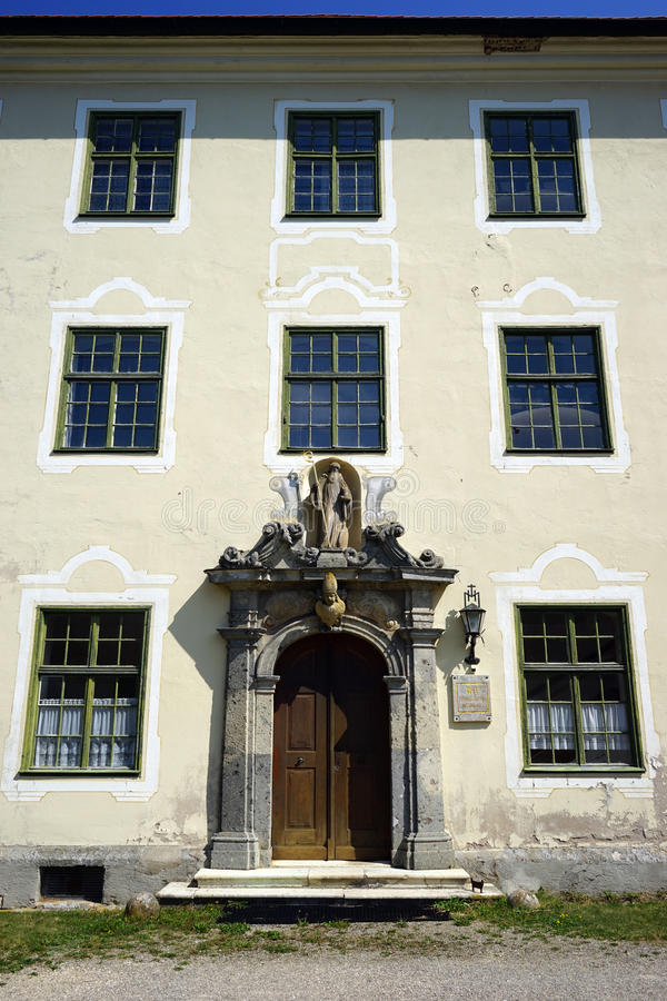 Facade of Mariannhiller Missionare stock images