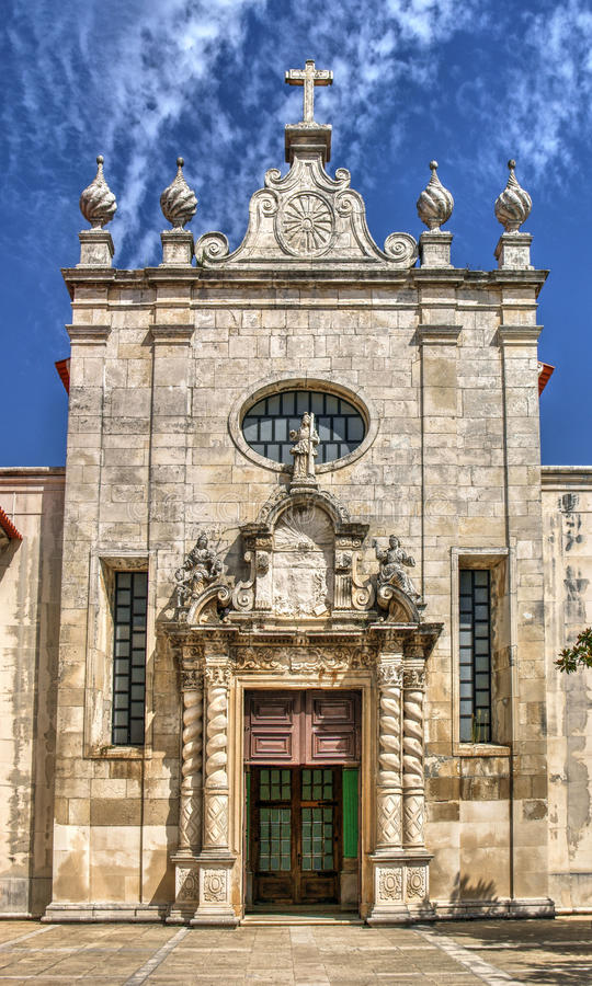 Download Facade Of Matriz Church Of Aveiro Stock Image - Image of cathedral, clock: 92490599