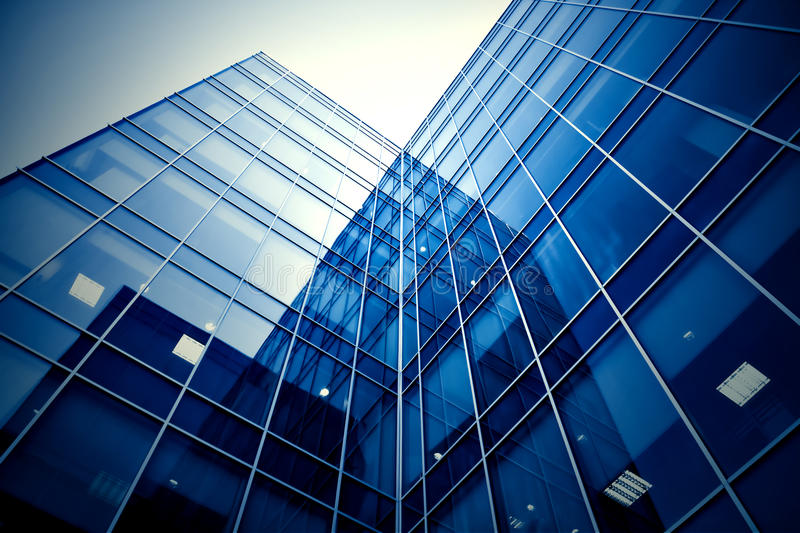 Download Facade of modern building stock photo. Image of cityscape - 16145936