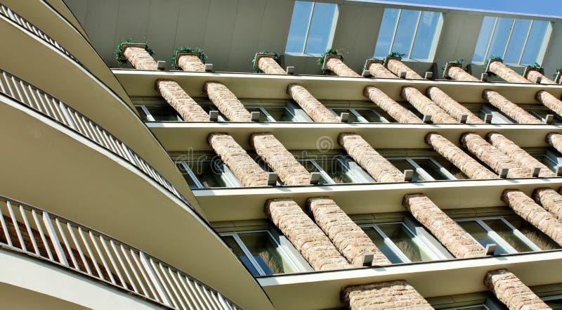 Facade  Of A Modern Building Royalty Free Stock Photos
