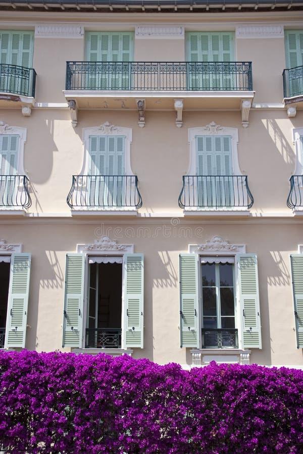 Download Facade from Monaco stock image. Image of windows, bush - 23439585