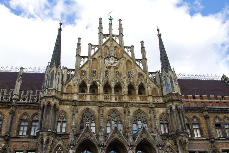 Download Facade Munich City Hall stock image. Image of landmark - 16326189