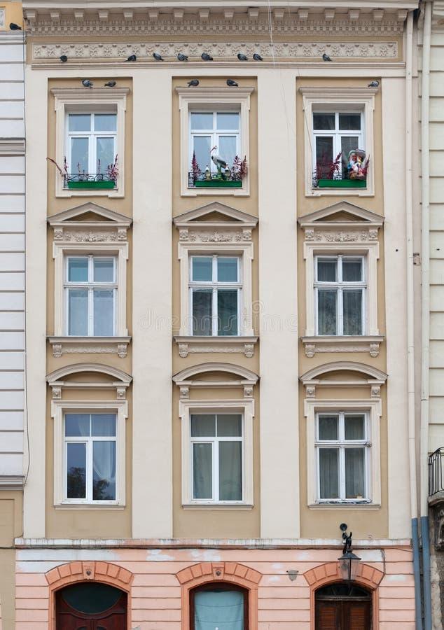 Free Facade Of A Building With Windows Stock Photos - 16765543