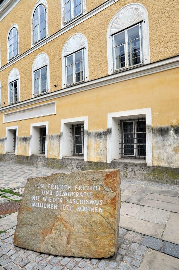 Free Facade Of House Where Adolf Hitler Was Born Stock Photography - 109729292