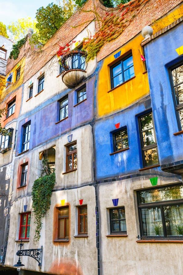 Free Facade Of Huntdertwarsser House In Vienna Stock Image - 81925141