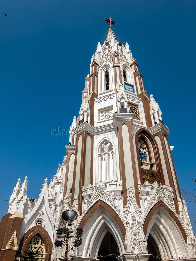 Free Facade Of St. Mary Basilica In Bangalore Royalty Free Stock Photo - 132558655
