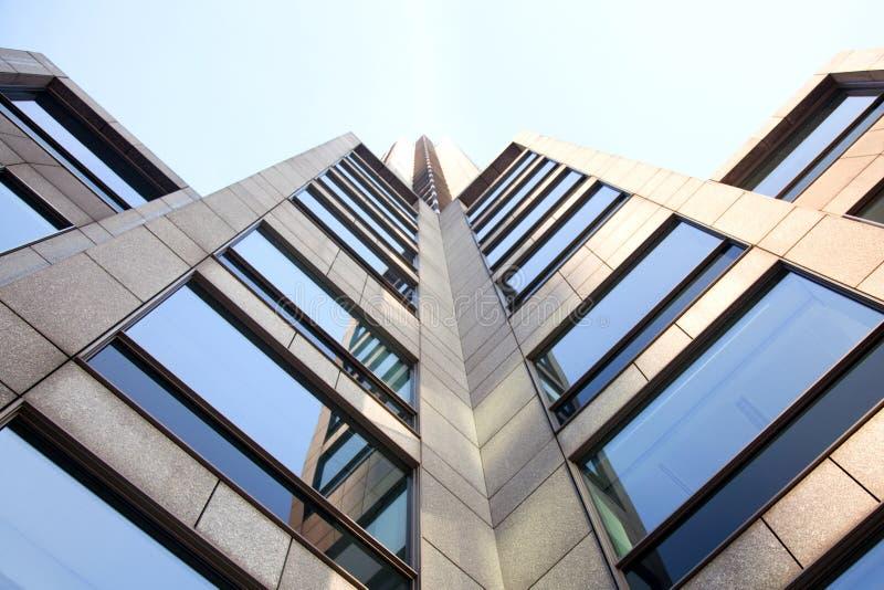 Facade of office building royalty free stock photos