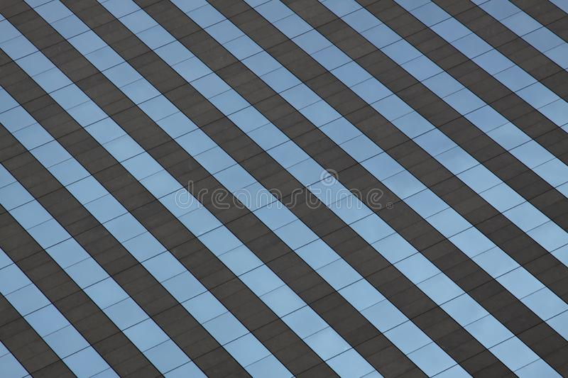 Facade of office building stock images