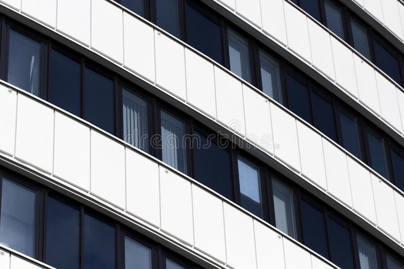Glass Facade Of Office Building Royalty Free Stock Image: Facade Of Office Building Royalty Free Stock Image