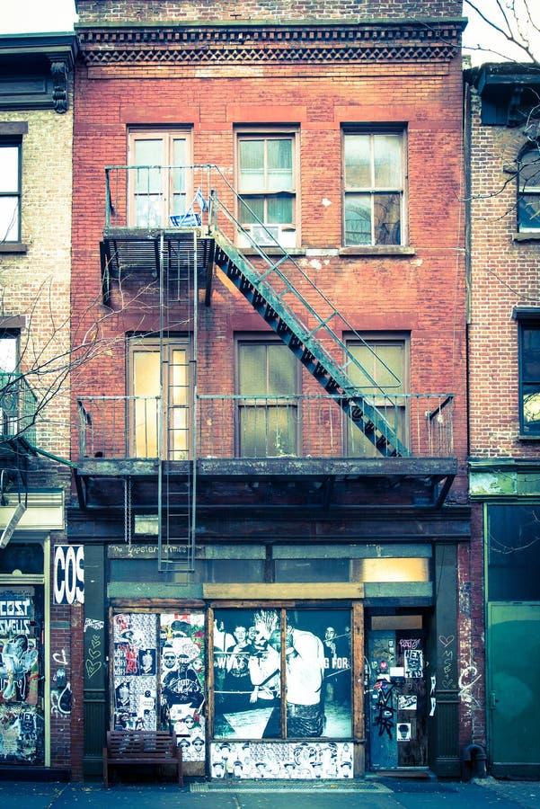 brick apartment building. Download Facade Of Old Brick Apartment Building Editorial Stock Photo  Image of building green