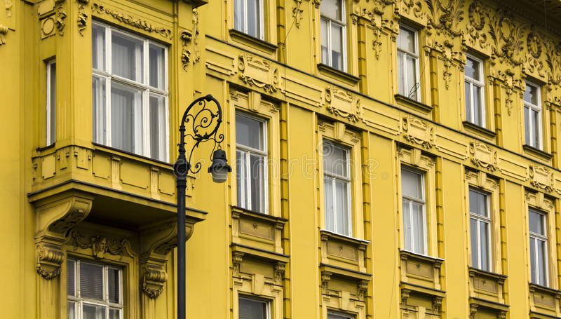 Facade Of The Old Town Building In Zagreb Stock Photography