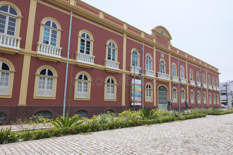 Facade of the Palacete Provinical (Provincial Manor House) royalty free stock images