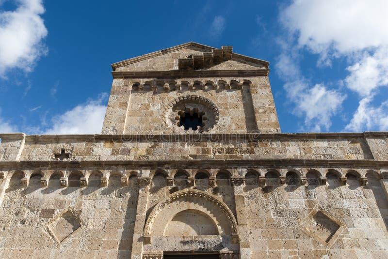 Romanesque Facade stock images