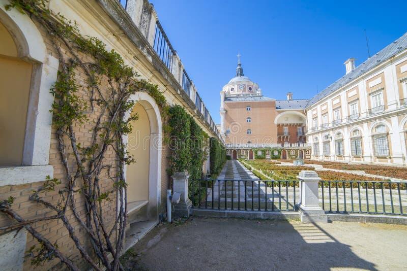 Facade, Royal Palace of Aranjuez. Community of Madrid, Spain. It stock photography