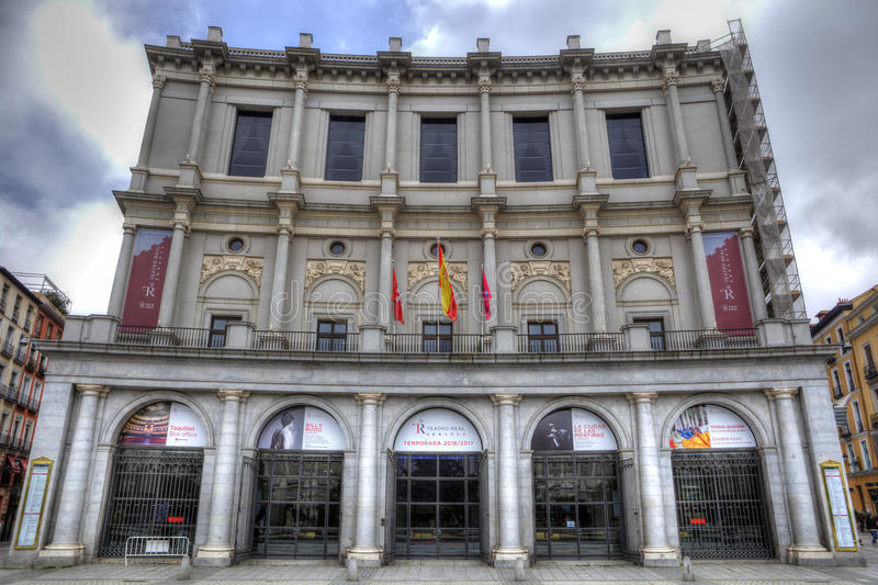 Download Facade Of Royal Palace In Madrid Editorial Photo - Image of spain, royal: 88423046