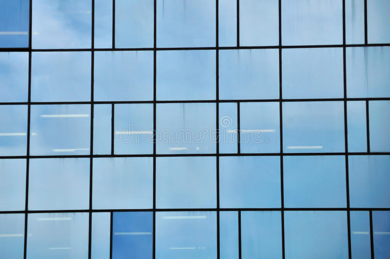 facadeexponeringsglas arkivfoto